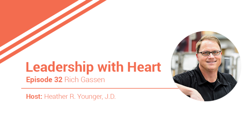 32: Leaders With Heart Know That They Must Show Up And Participate