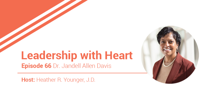 66: Leaders With Heart Show Up And Speak Up