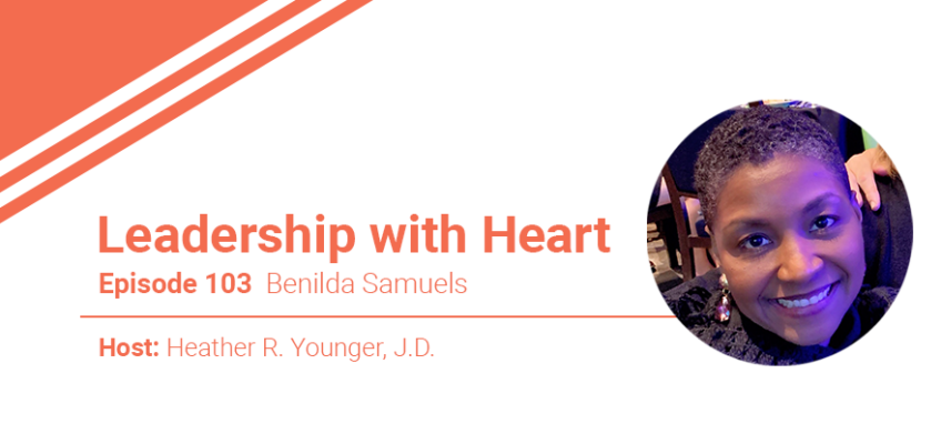 103: Leaders With Heart Help Others To Take A Breath Through Adversity